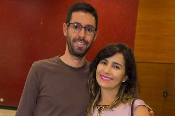 Junior Dias e Lara Melo (Romulo Juracy/Esp. CB/D.A Press)