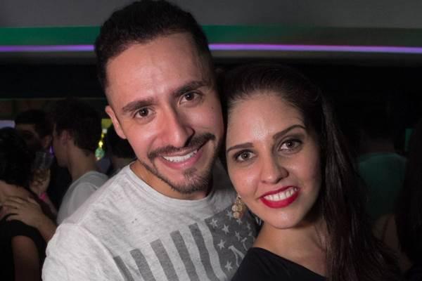 Leandro Albuquerque e Daenia Dias (Romulo Juracy/Esp. CB/D.A Press)