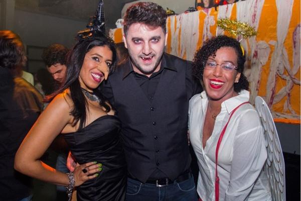 Bruna Pereira, Rafael Medeiros e Beatriz Souza (Romulo Juracy/Esp. CB/D.A Press)
