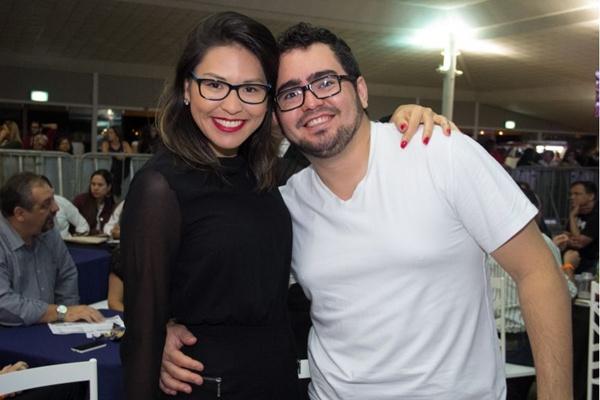 Christiana Lara Resende e Jorge Monteiro (Romulo Juracy/Esp. CB/D.A Press)