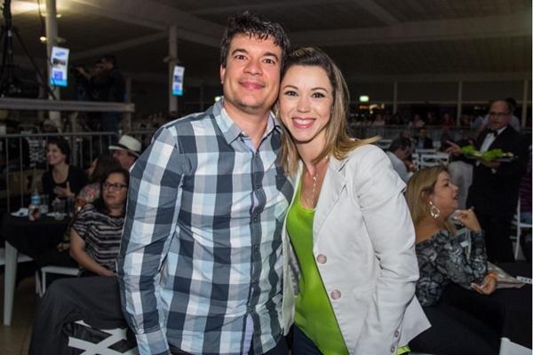 Felipe Lajus e Rosana Iage (Romulo Juracy/Esp. CB/D.A Press)