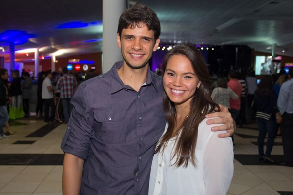 Rodrigo Barroso e Luiza Torquato (Romulo Juracy/Esp. CB/D.A Press)