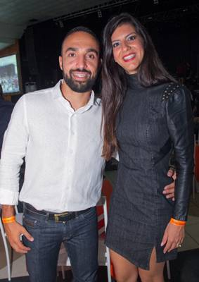 Danilo Pereira e Thamires Pereira (Romulo Juracy/Esp. CB/D.A Press)