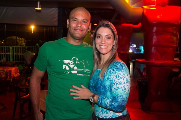 Brunno Ayres e Nathalia Bastos (Romulo Juracy/Esp. CB/D.A Press)