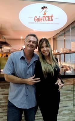 Rodrigo Launde e Taiana Santos apostaram em Águas Claras como polo gastronômico (Liana Sabo/CB/D.A Press)