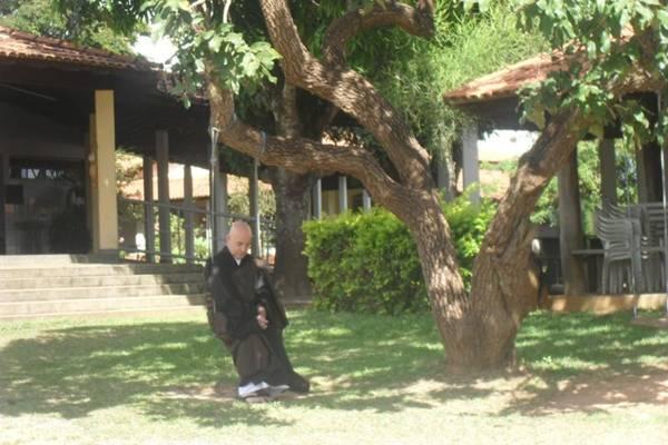 Monge Genshô falará sobre os ensinamentos de Buda para a plateia brasiliense  (ZenPlanalto/Divulgação)