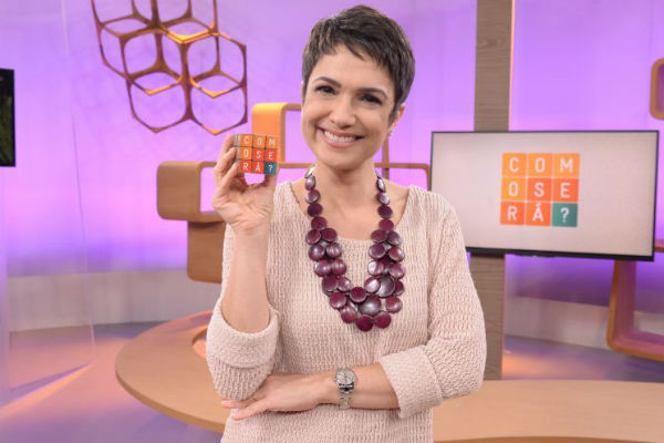 Sandra Annenberg está afastada da tevê para se recuperar (Zé Paulo Cardeal/TV Globo)