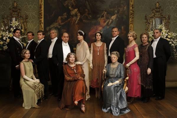 Downton Abbey é a rica propriedade da família Crawley (GNT/Divulgação)
