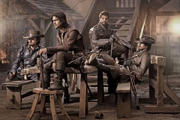 A história da série The Musketeers se passa em 1630  (Steven Neaves/BBC)