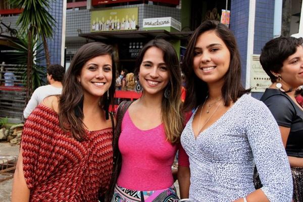 Camila Monturil, Ana Paula Mendes e Giulia Weber (Romulo Juracy/Esp. CB/D.A Press)