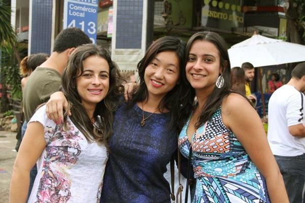 Valdinéia Oliveira, Suely Sato e Adriana Alvarenga (Romulo Juracy/Esp. CB/D.A Press)