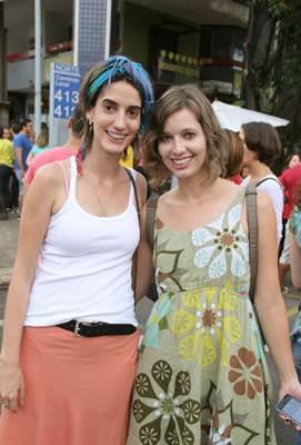 Priscila Miglio e Ingrid Prahl (Romulo Juracy/Esp. CB/D.A Press)