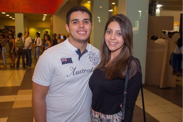 Lucas Fidalgo e Caroline Gutemberg (Francisco Nero/Esp. CB/D.A Press)