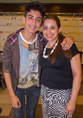 Jhonathan Oliveira e Roberta de Oliveira (Francisco Nero/Esp. CB/D.A Press)