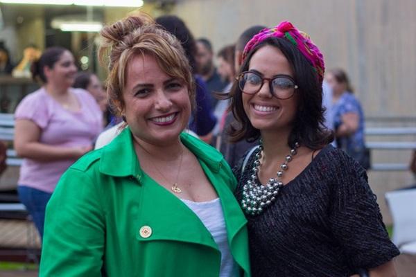 Lilian Souza e Carolina Cyrino (Romulo Juracy/Esp. CB/D.A Press)