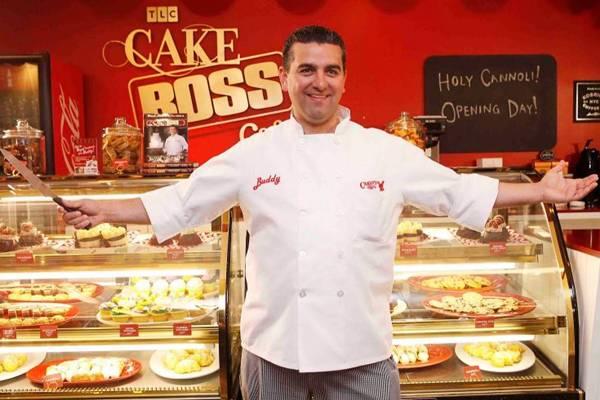 Cena do programa Cake Boss, com Buddy Valastro (TLC/Divulgação)