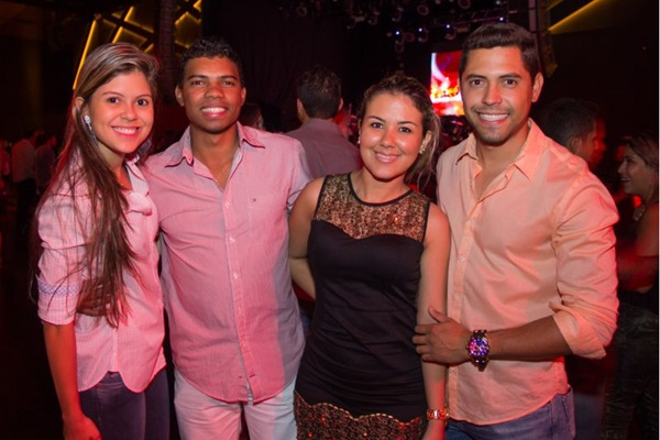 Talita Araújo, Johnatas Alberto, Deborah Nogueira e Diego Freddi  (RomuloJuracy/Esp. CB/D.A Press)