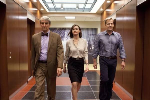 The newsroom dramatiza o cotidiano de uma redação americana  (HBO/Divulgação)