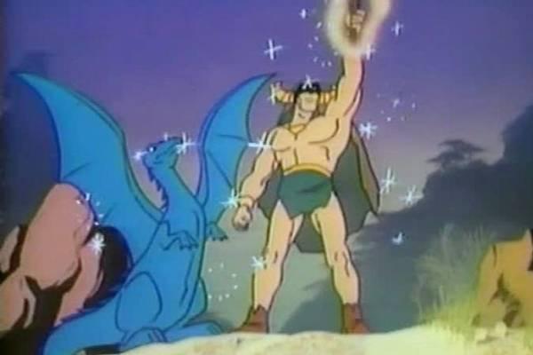 O poderoso Mightor fez sucesso na década de 1980  (Hanna-Barbera/Reprodução)