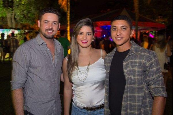 Gabriel de Lara, Natália de Oliveira e Pedro Santana (Rômulo Juracy/Esp. CB/D.A Press)