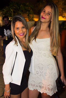 Ana Paula Rocha e Michelle Santos (Rômulo Juracy/Esp. CB/D.A Press)