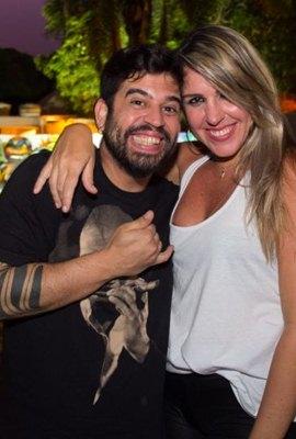 Henrique Estevam e Gabriela Cavalcanti (Rômulo Juracy/Esp. CB/D.A Press)