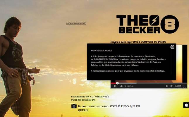 (Reprodução/http://www.theobecker.com.br/)