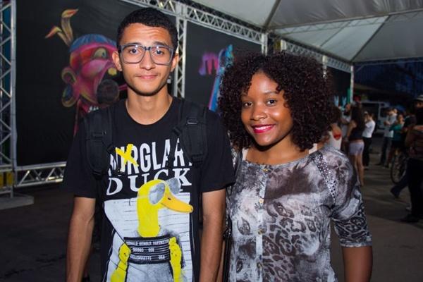 Arthur Santos e Thaís de Oliveira (Romulo Juracy/Esp. CB/D.A Press)