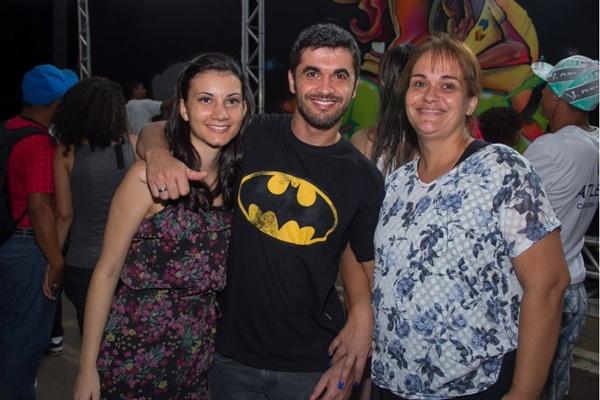 Catrine Silva, Leandro de Castro e Rosângela de Castro (Romulo Juracy/Esp. CB/D.A Press)