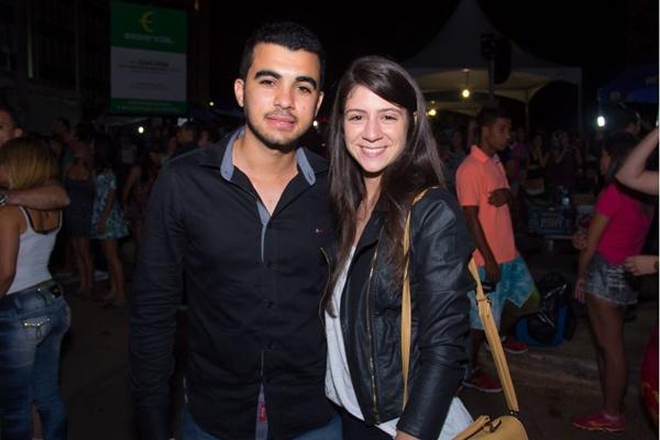 Diego Alessandro e Kamilla Costa (Romulo Juracy/Esp. CB/D.A Press)