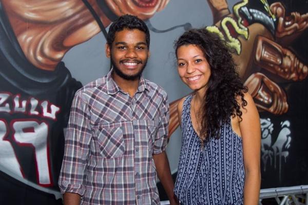 Luiz Gustavo e Andressa Caitano (Romulo Juracy/Esp. CB/D.A Press)