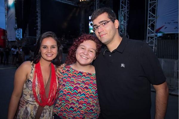 Raíssa Abreu, Yrinna Brito e Dario Yuri (Romulo Juracy/Esp. CB/D.A Press)