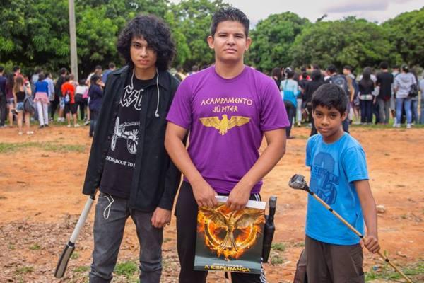 Fernando Falcão, Daniel Tornch e Arthur Vieira (Rômulo Juracy/Esp. CB/D.A Press)