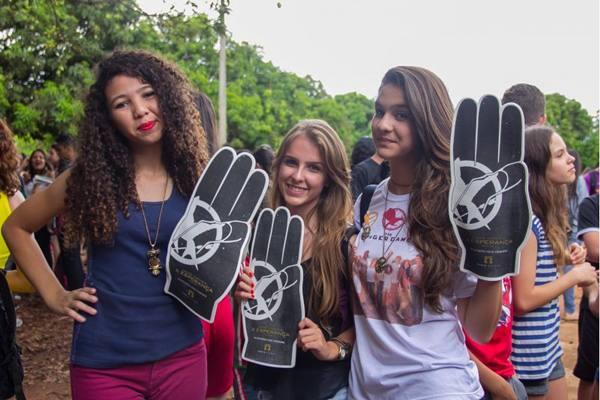 Júlia Tavares, Meiriely Lopes e Julia Leite (Rômulo Juracy/Esp. CB/D.A Press)