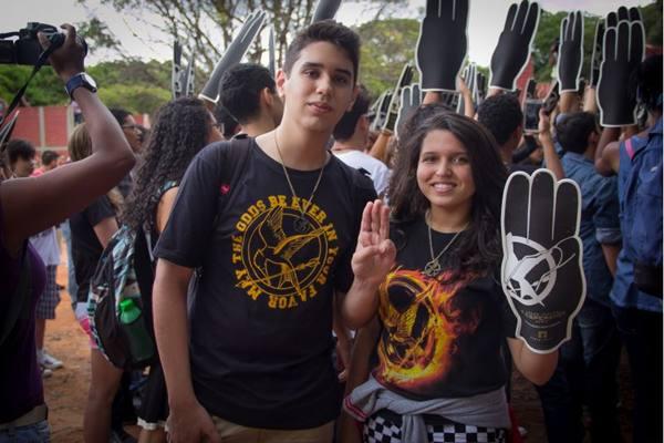 Thiago Ferreira e Bianca Lima (Rômulo Juracy/Esp. CB/D.A Press)