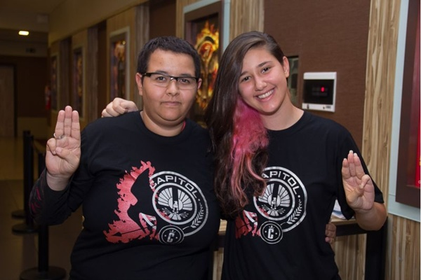 Larissa Fernandez e Sofia Lopes (Romulo Juracy/Esp. CB/D.A Press)