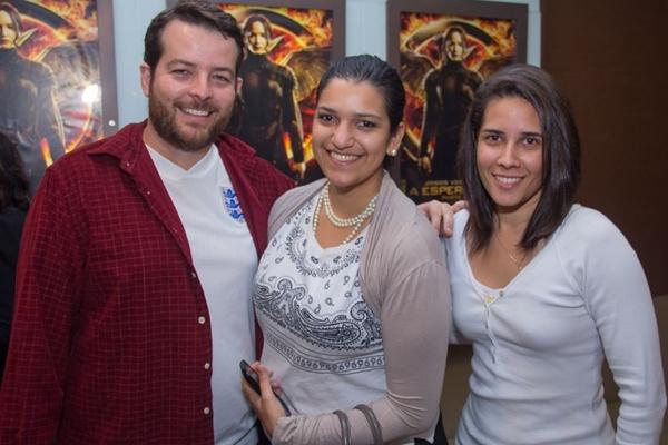 Pedro Ribeiro, Alessandra Távora e Raquel Rocha (Romulo Juracy/Esp. CB/D.A Press)