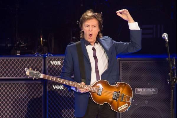 Paul McCartney deve levar 45 mil brasilienses ao Mané Garrincha (Marcos Hermes/Divulgação)