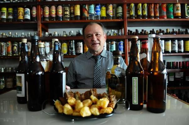 Alberto Veras é admirador convicto da bebida: 'Combina com tudo' (Gilberto Alves/CB/D.A Press)