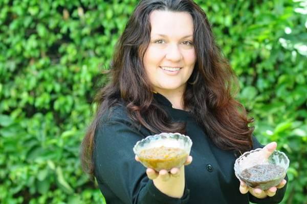 Renata Mandelli: o equilíbrio entre ingredientes é fundamental para um bom chutney (Gilberto Alves/CB/D.A Press)