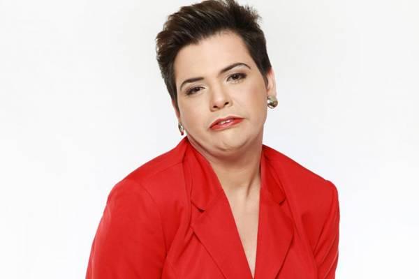 A imitação da presidente Dilma Rousseff tornou Gustavo Mendes conhecido em todo o país  (Band/Divulgação)