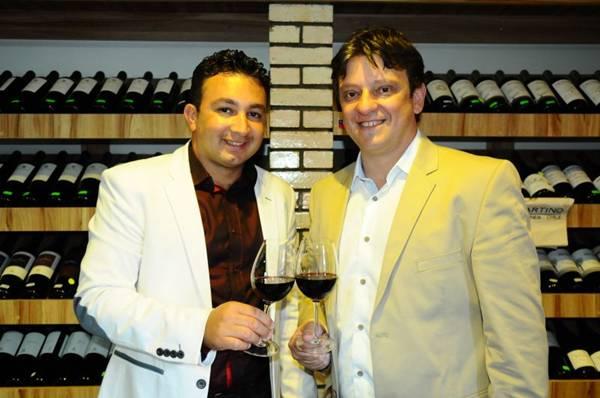 José Filho e Marcos Rachelle: black friday de vinhos (Gilberto Alves/CB/D.A Press)