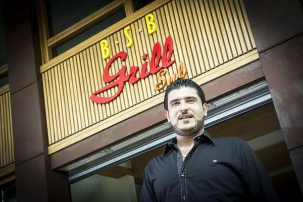 Chef Gheith Dib, que comandará o jantar árabe no BSB Grill (David Fernandes/Divulgação)