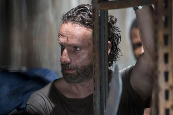 Rick Grimes lidera o grupo de sobreviventes de The walking dead  (Fox/Divulgação)