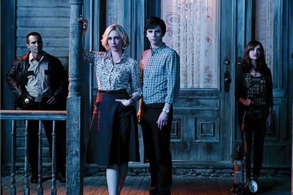 O protagonista de Psicose estrela a série Bates Motel (Canal Universal/Divulgação)