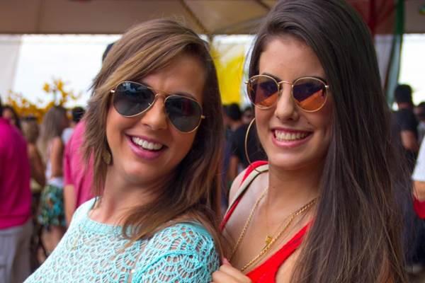 Iohanna Oliveira e Jaqueline Diniz (Romulo Juracy/Esp. CB/D.A Press)