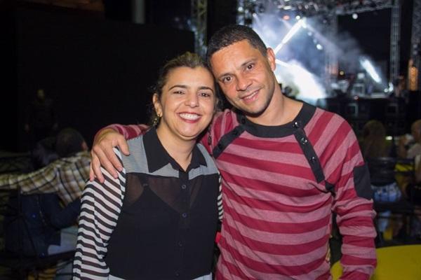 Adriana Medeiros e André Mendes  (Romulo Juracy/Esp. CB/D.A Press)