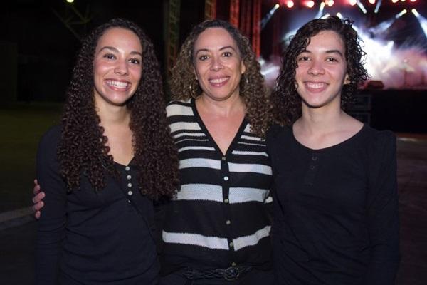 Júlia Ribeiro, Márcia Ribeiro e Marina Ribeiro (Romulo Juracy/Esp. CB/D.A Press)