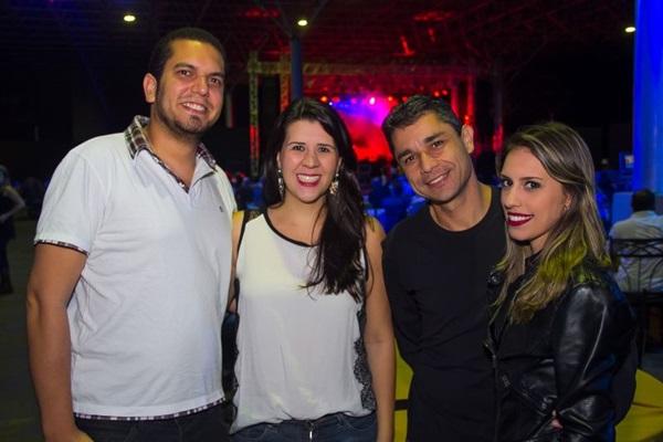 Luiz Humberto, Lívia Nogueira, Henrique Sá e Raíssa Mara (Romulo Juracy/Esp. CB/D.A Press)
