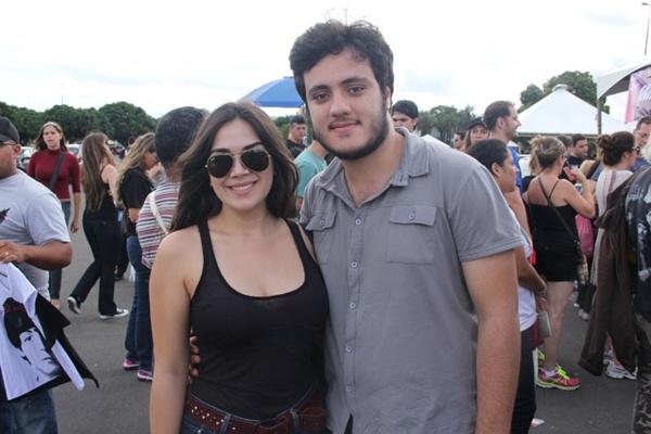 Ana Reis e Pedro Gomides (Romulo Juracy/Esp. CB/D.A Press)